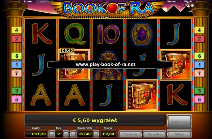 Book Of Ra Multi Gaminator Online